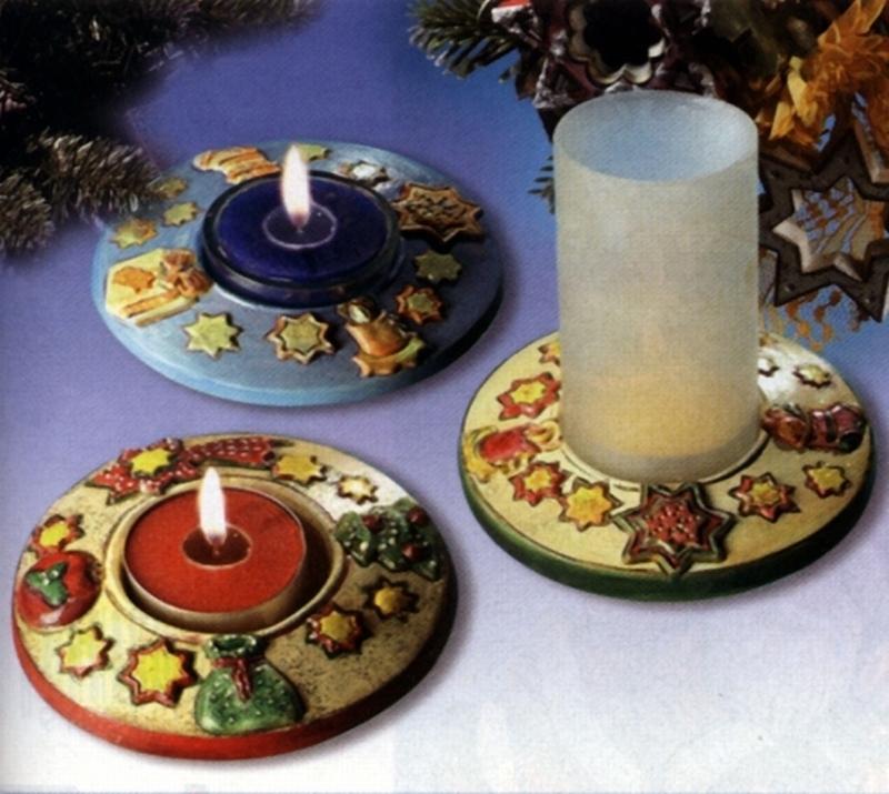 Kerzenhalter Weihnachten.Keraflott Gießform Kerzenhalter Weihnachten