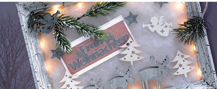 Weihnachtsbeleuchtung Basteln.Basteln Dekorieren Zur Adventszeit Weihnachten