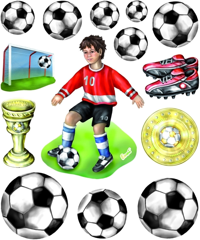 Xxl 3d Sticker Fussball