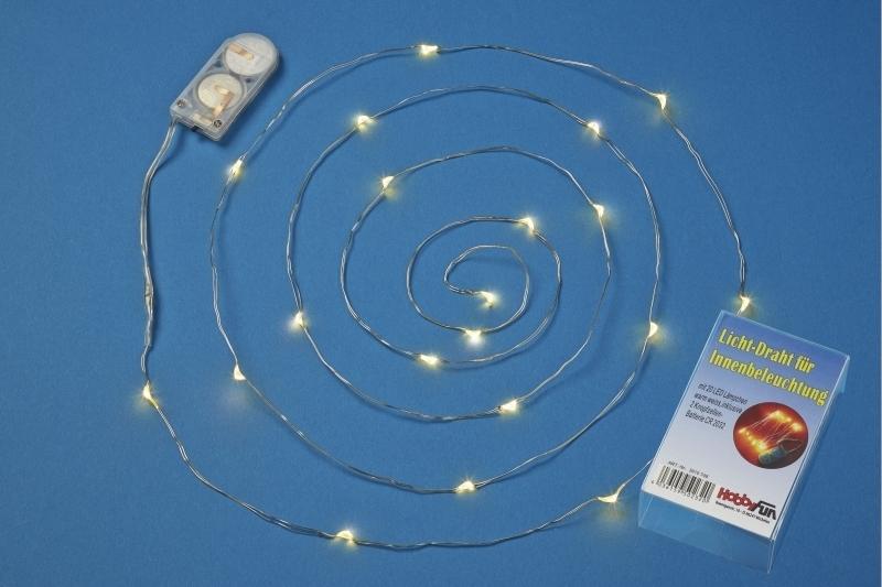 creapop led leuchtdraht warmes licht 20 lampen weihnachtsbaum. Black Bedroom Furniture Sets. Home Design Ideas